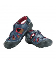 Vostro Men Sandal RiderA610 Navy Red VSD0002